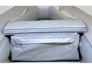 Накладка на банку с сумкой, длина от 110 до 120 см., ширина от 23 до 30 см.