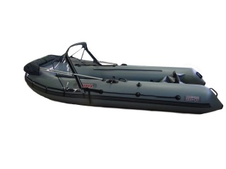 Тент КОМБИ на лодку БАДЖЕР 370DL