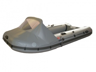 Носовой тент на лодку БАДЖЕР 390FL